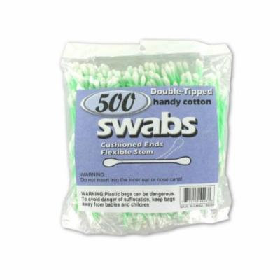 Bulk Buys Double-Tipped Cotton Swabs, Case of 24