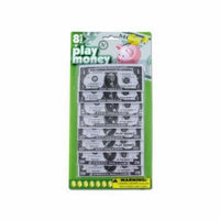 Bulk Buys Paper Play Money, Case of 24