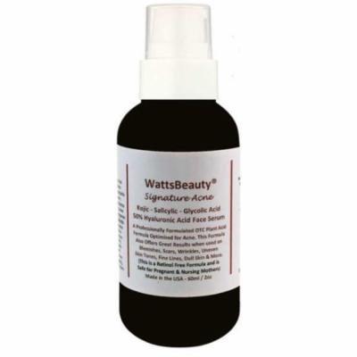 Watts Beauty Signature Hyaluronic Acid Gel Serum with Salicylic, 2 oz