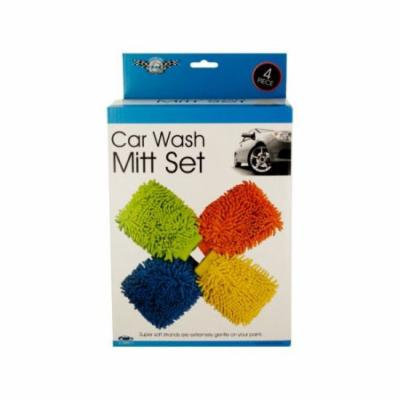 Bulk Buys Super Soft Car Wash Mitt Set, Case of 1