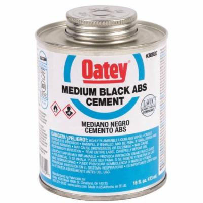 CEMENT ABS MED BLACK 4OZ