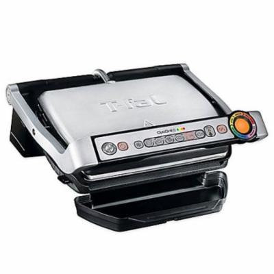 T-Fal GC712D54 Stainless Steel OptiGrill Plus