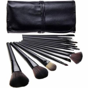 Bliss & Grace Professional Black Make-Up Brush Set, 15 pc