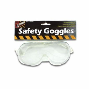 Bulk Buys Safety Goggles, Case of 24