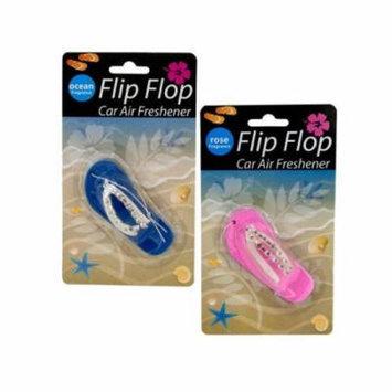 Bulk Buys Flip Flop Car Air Freshener, Case of 18