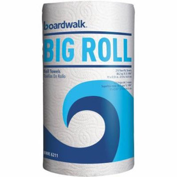 Boardwalk 2-Ply Big Roll Paper Towels, White, 210 sheets, 12 count