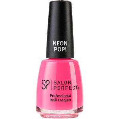 Salon Perfect Professional Nail Lacquer, 516 Wrapped Around My Pink-y, 0.5 fl oz