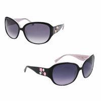 Bebe Women's Bodacious Sunglasses - Black/Pink