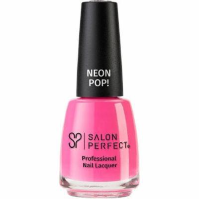 Salon Perfect Professional Nail Lacquer, 526 Pink-y Swear, 0.5 fl oz