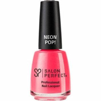 Salon Perfect Neon Pop! Professional Nail Lacquer, 531 Let's Not Coral, 0.5 fl oz