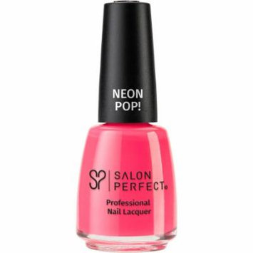 Salon Perfect Neon Pop! Professional Nail Lacquer, 517 Oh Snap!, 0.5 fl oz