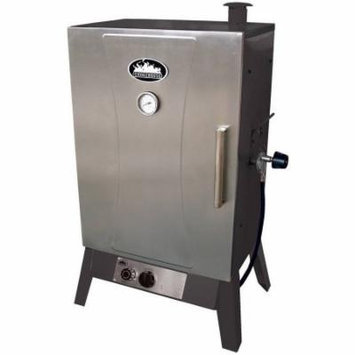 Smokehouse Wide Gas Smoker, Silver