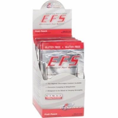 First Endurance EFS Drink Mix: Fruit Punch 10 Single Serving Packets