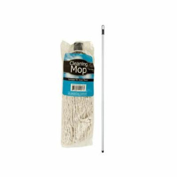 Bulk Buys Cotton Cleaning Mop, Case of 4