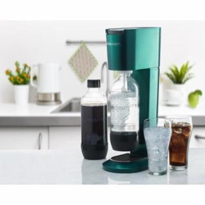 SodaStream Genesis Home Sparkling Water Maker Starter Kit w/ Reusable Bottle - Green with 1 liter bottle