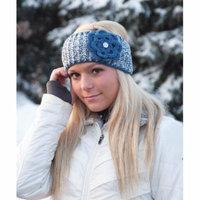 Mary Maxim Knit or Crochet Headband - Grey