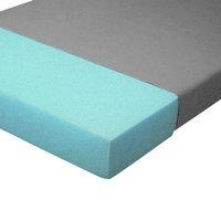 Mason Medical Bed Renter II Densified Fiber Mattress, Green, 80x36x5.5, 1 ea