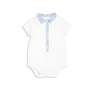 Burberry Baby's Tanner Bodysuit - Ice Blue