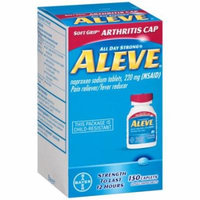 Aleve Pain Reliever/Fever Reducer, 220mg, 150 count