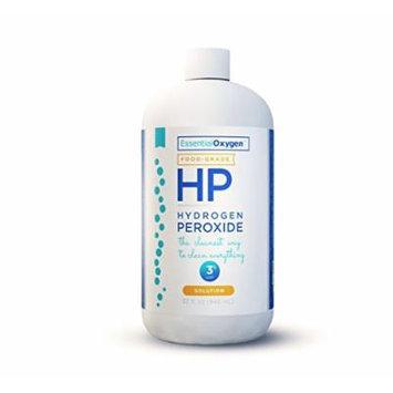 Essential Oxygen Hydrogen Peroxide 3% Food Grade, 32 Fluid Ounce