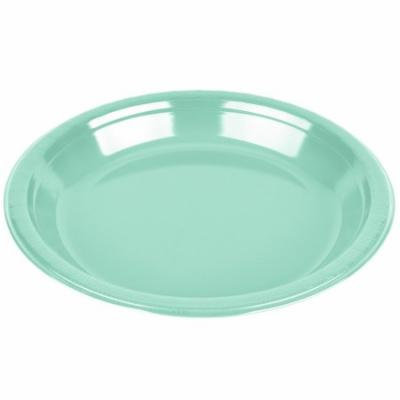Club Pack of 240 Fresh Mint Green Premium Heavy-Duty Plastic Dinner Plates 9