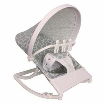 Hoohobbers Pebbles Sky Blue Rocking Infant Rocker Seat