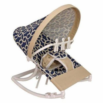 Hoohobbers Pebbles Navy Rocking Infant Rocker Seat