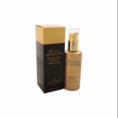 L'Elixir Des Glaciers Swiss Poly-Active Cleansing Micellar Water - 4.2 oz Make Up Remover