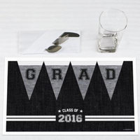 All Star Grad - Graduation Party Placemats - Set of 12