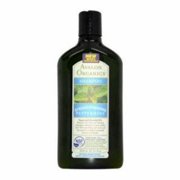 Organics Strengthening Peppermint Shampoo - 11 oz Shampoo