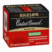 Bigelow Black Tea Decaffeinated Constant Comment, 20 CT (Pack of 6)