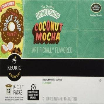 Donut Shop Donut Shop Coconut Mocha Medium Roast Coffee, K-Cups, 6.2 OZ (Pack of 6)