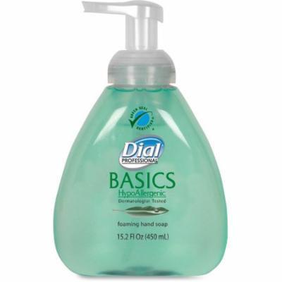 Dial Corp. Basics HypoAllergenic Foam Hand Soap -DIA98609CT