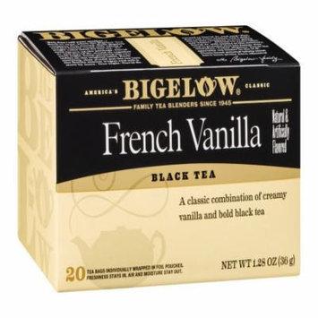 Bigelow French Vanilla Tea, 20 CT (Pack of 6)