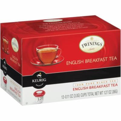 Twinings English Breakfast Tea, K Cups, 12 CT (Pack of 6)