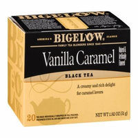 Bigelow Tea Bags - Vanilla Caramel, 20 CT (Pack of 6)