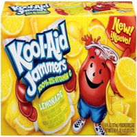 Kool-Aid Jammers Flavored Drink Pouches, Lemonade, 10 CT (Pack of 4)