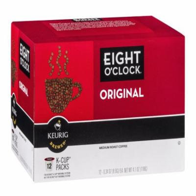 Eight O'Clock Coffee Green Mountain Coffee Roasters Gourmet Single Cup Coffee Original, 12 CT (Pack of 6)