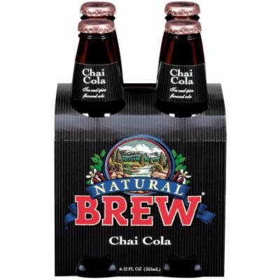 Natural Brew Chai Cola, 12 FL OZ (Pack of 6)