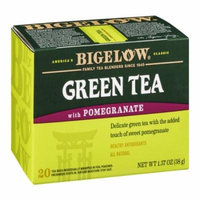 Bigelow Green Tea, with Pomegranate, Bags, 20 CT (Pack of 6)