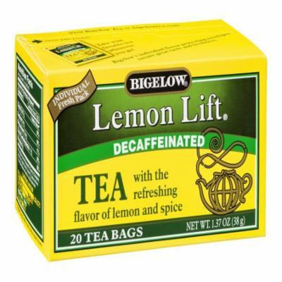 Bigelow Decaf Lemon Lift Tea Bags, 20 CT (Pack of 6)