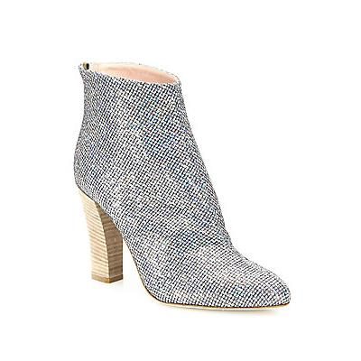 SJP by Sarah Jessica Parker Minnie Shimmer Boots - Silver