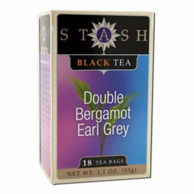 Stash Double Bergamot Earl Grey Tea, 18 CT (Pack of 6)