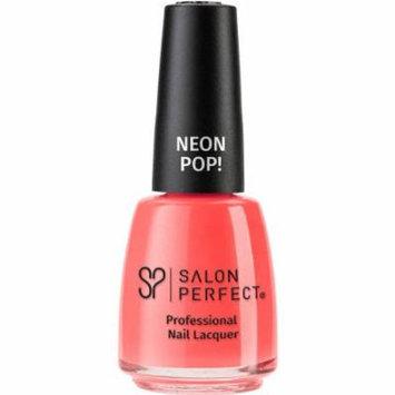 Salon Perfect Neon Pop! Professional Nail Lacquer, 518 Copacabana Girl, 0.5 fl oz