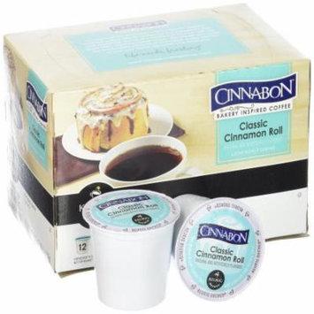 Cinnabon Classic Cinnamon Roll Coffee K-Cups, 3.9 OZ (Pack of 6)