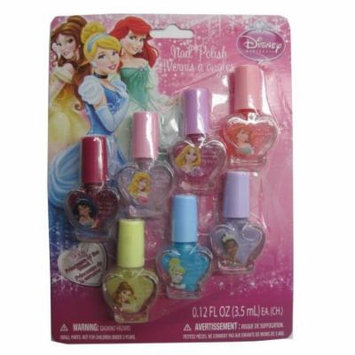 Disney Girls Princesses of the Week Design Nail Polish Set