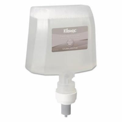 KLEENEX Alcohol-Free Foam Hand Sanitizer, 1200mL, Clear, 2/Carton