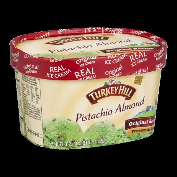 Turkey Hill Ice Cream Pistachio Almond