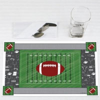 End Zone - Football - Party Placemats - Set of 12