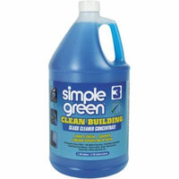 Simple Green Clean Building Glass Cleaner Concentrate, 1 gal, (Pack of 2)